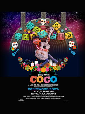 Coco - A Live to Film Concert Experience Poster