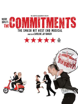 The Commitments, Manchester Palace Theatre, Manchester