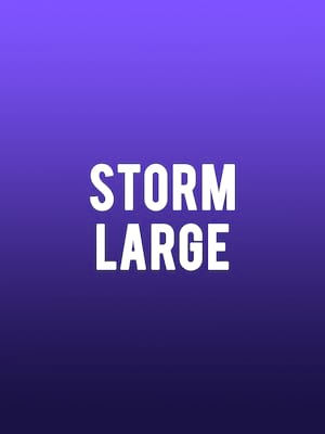 Storm Large at Hammer Theatre