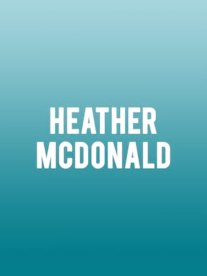 Heather McDonald Poster