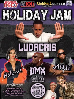 Holiday Jam, Golden 1 Center, Sacramento
