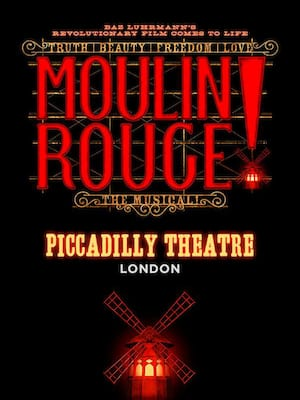 Moulin Rouge! The Musical at Piccadilly Theatre