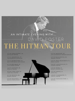 David Foster with Katharine McPhee at Connor Palace Theater
