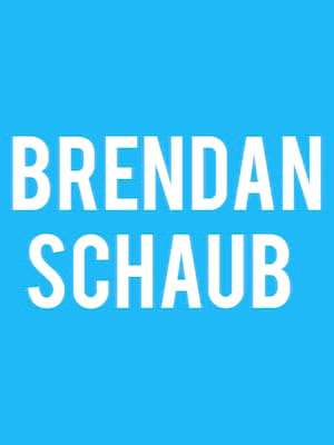 Brendan Schaub at Danforth Music Hall
