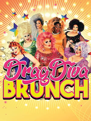 Drag Diva Brunch Poster