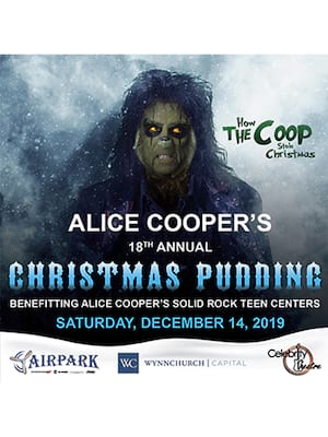 Alice Cooper's Christmas Pudding at Celebrity Theatre