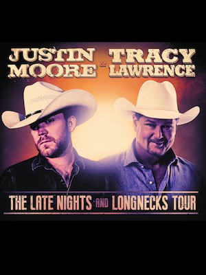 Justin Moore and Tracy Lawrence Poster