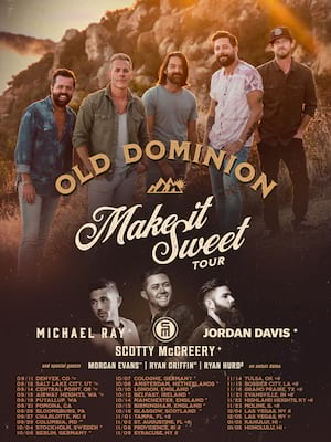 KSCS Country Fest with Old Dominion Poster