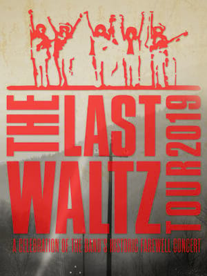 The Last Waltz Tour Poster