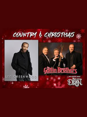 Country and Christmas Poster