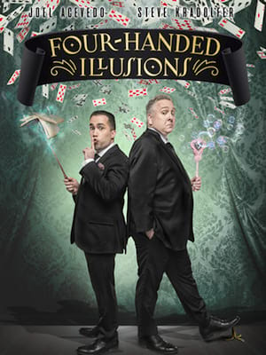 Four-Handed Illusions Poster