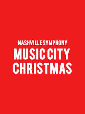 Nashville Symphony - Music City Christmas Poster