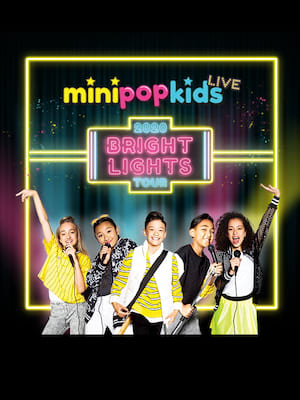 Mini Pop Kids, Northern Alberta Jubilee Auditorium, Edmonton