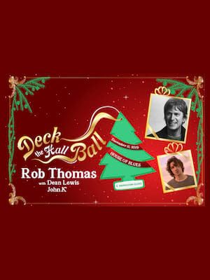 MIX 96.5 Deck The Hall Ball - Rob Thomas at House of Blues