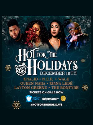 Hot for the Holidays Poster