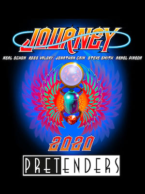 Journey with The Pretenders, Xcel Energy Center, Saint Paul