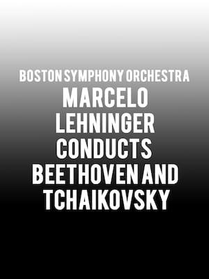 Boston Symphony Orchestra - Marcelo Lehninger Poster