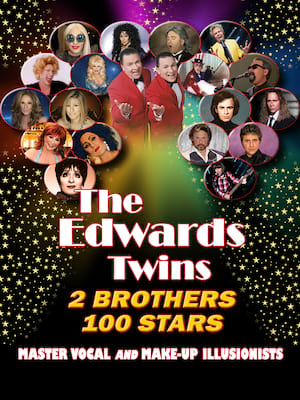The Edwards Twins: Christmas With The Stars Poster