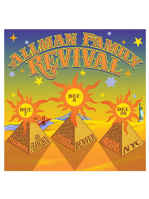 The Allman Family Revival Poster