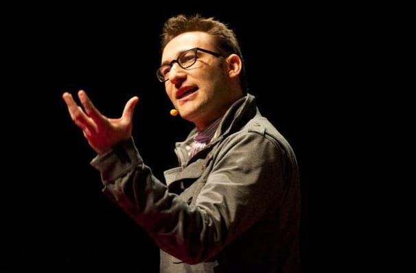 Simon Sinek, Town Hall Theater, New York