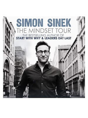 Simon Sinek at Palace of Fine Arts