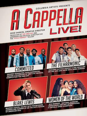 A Cappella Live, Holland Performing Arts Center Kiewit Hall, Omaha