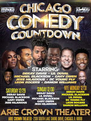 DeRay's Comedy Count Down Festival of Funny Poster