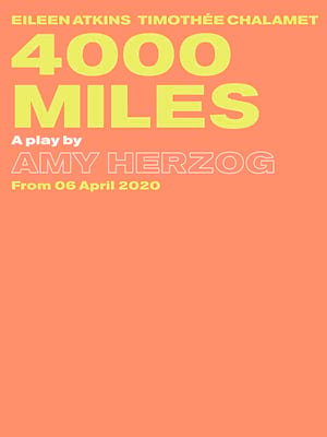 4000 Miles, Old Vic Theatre, London
