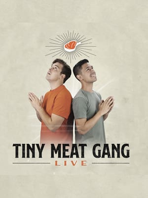 NYE with Tiny Meat Gang Poster