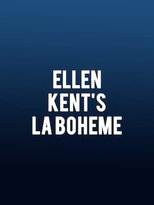 Ellen Kents La Boheme, Sunderland Empire, Newcastle Upon Tyne