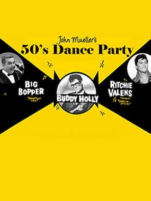 John Mueller's 1950s Dance Party Poster