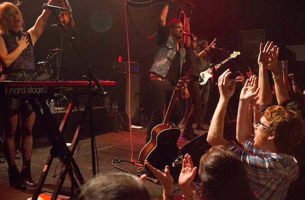 Airborne Toxic Event, Waiting Room Lounge, Omaha