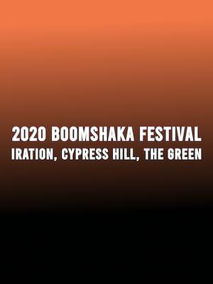 2020 Boomshaka Music Festival Poster