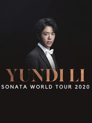 Yundi at San Jose Center for Performing Arts
