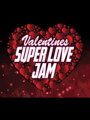 Valentines Super Love Jam Poster