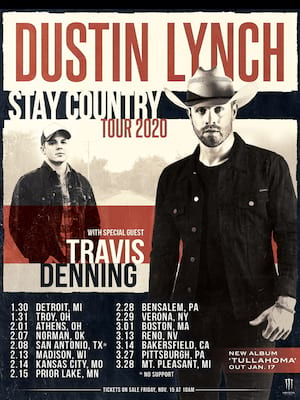 Dustin Lynch Poster