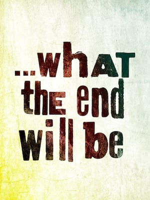 What The End Will Be, Laura Pels Theater, New York