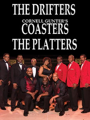The Coasters, Drifters, and Platters Poster