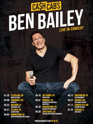 Ben Bailey, House of Blues, Cleveland