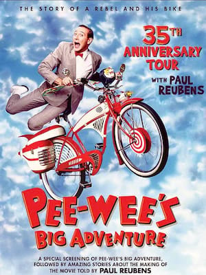 Pee-wee's Big Adventure - Film Poster