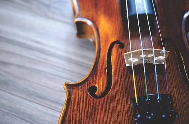 National Symphony Orchestra Tchaikovskys Violin Concerto, Kennedy Center Concert Hall, Washington