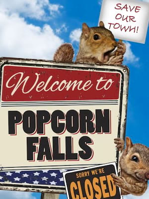 Popcorn Falls at Walnut Street Theatre
