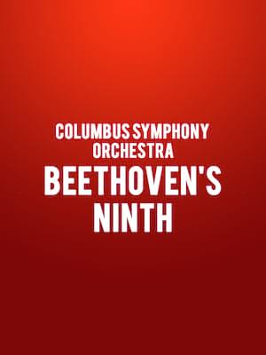 Columbus Symphony Orchestra Beethovens Ninth, Ohio Theater, Columbus