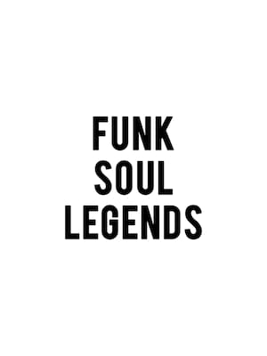 Funk Soul Legends Poster