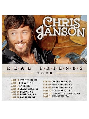 Chris Janson, Indian Ranch, Worcester