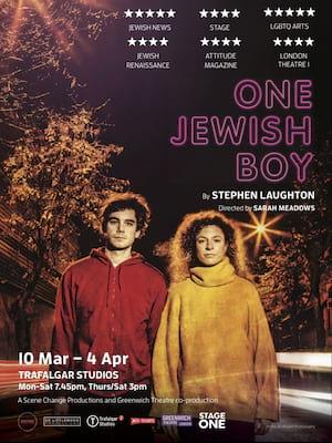 One Jewish Boy Poster
