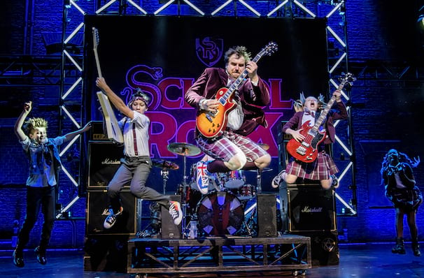 The School of Rock, Wales Millenium Centre, Cardiff