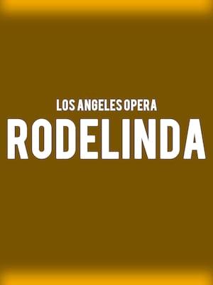 Los Angeles Opera - Rodelinda Poster