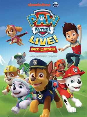 Paw Patrol Live, Edinburgh Playhouse Theatre, Edinburgh