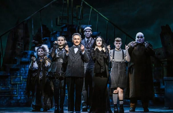 The Addams Family, Kings Theatre Glasgow, Glasgow